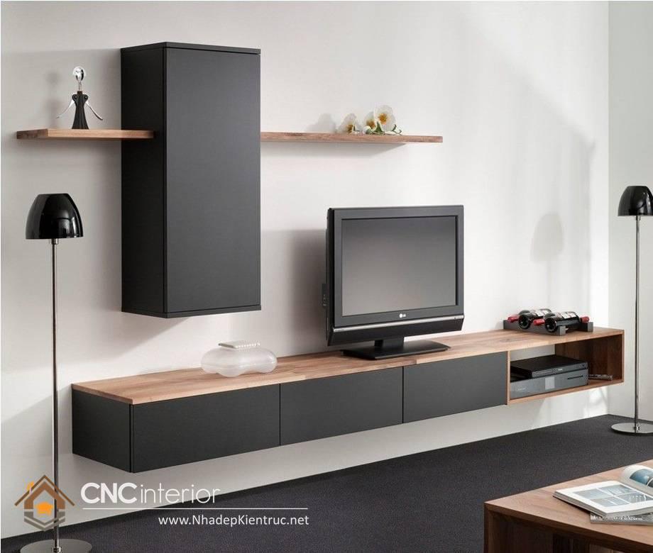 TỦ KỆ TIVI GỖ ĐẸP CNC-H 02