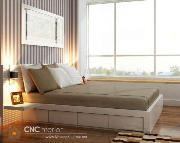 mẫu giường ngủ gỗ đẹp 10