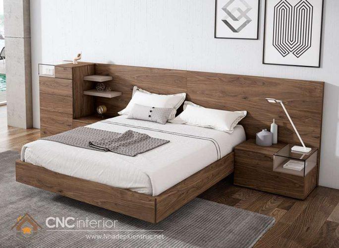 mẫu giường ngủ gỗ đẹp 14