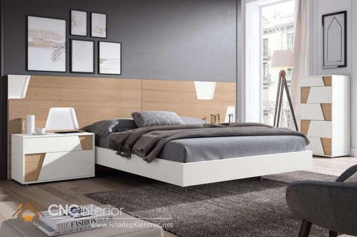 mẫu giường ngủ gỗ đẹp 15