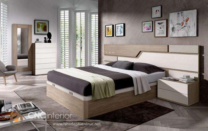 mẫu giường ngủ gỗ đẹp 18
