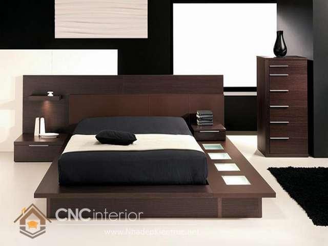 mẫu giường ngủ gỗ đẹp 19