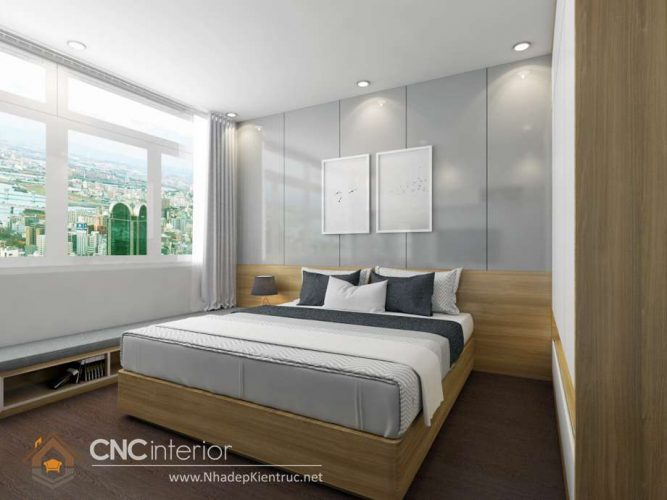 mẫu giường ngủ gỗ đẹp 20