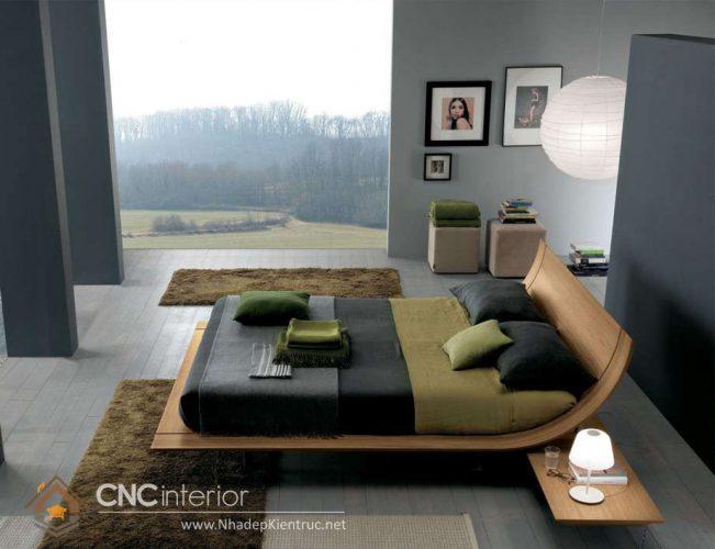 mẫu giường ngủ gỗ đẹp 21