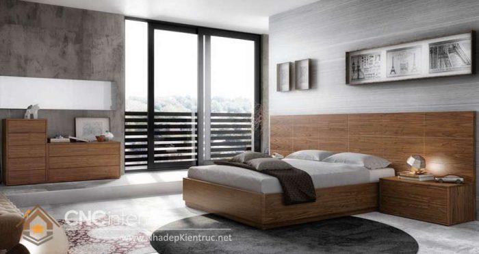 mẫu giường ngủ gỗ đẹp 23