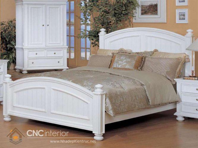 mẫu giường ngủ gỗ đẹp 29