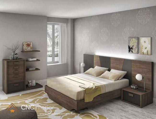mẫu giường ngủ gỗ đẹp 03