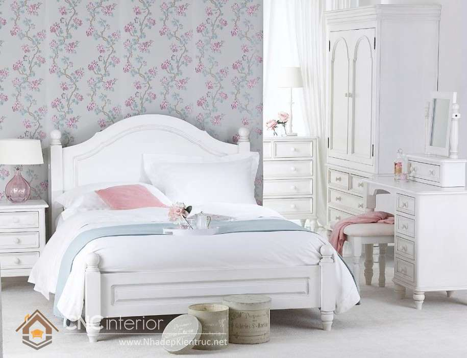 mẫu giường ngủ gỗ đẹp 31