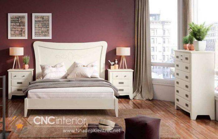 mẫu giường ngủ gỗ đẹp 33