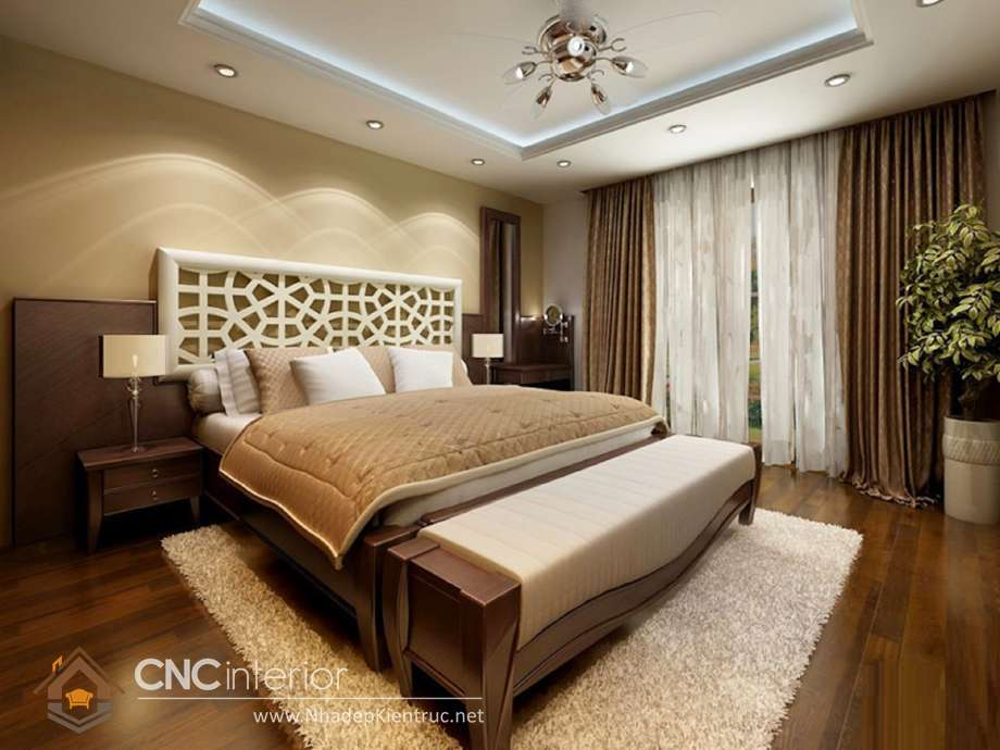 MẪU GIƯỜNG NGỦ GỖ ĐẸP CNC-H 05