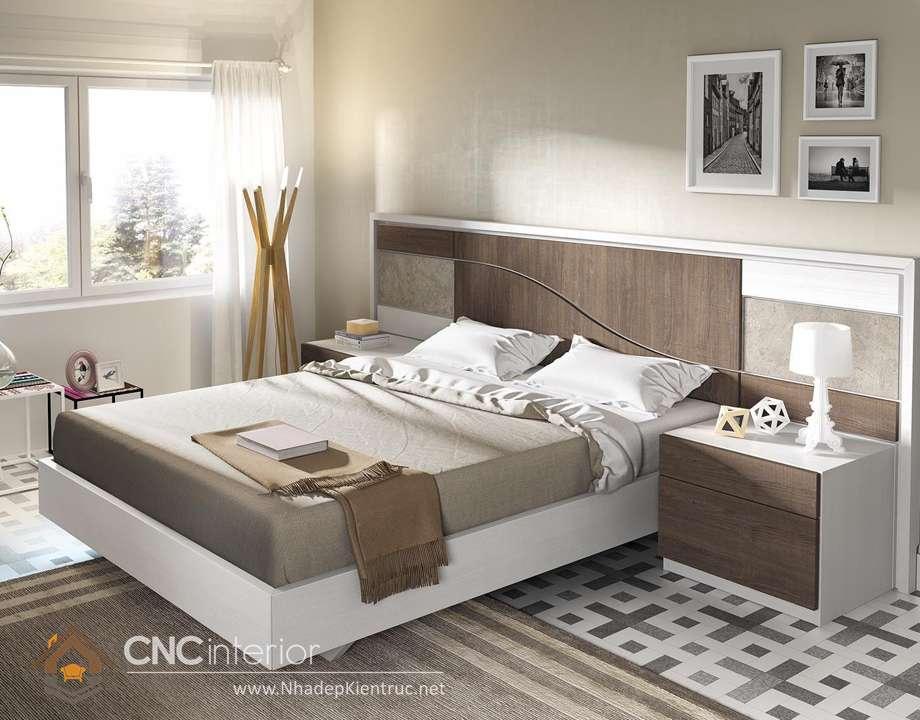 MẪU GIƯỜNG NGỦ GỖ ĐẸP CNC-H 06