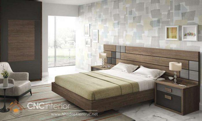 mẫu giường ngủ gỗ đẹp 07