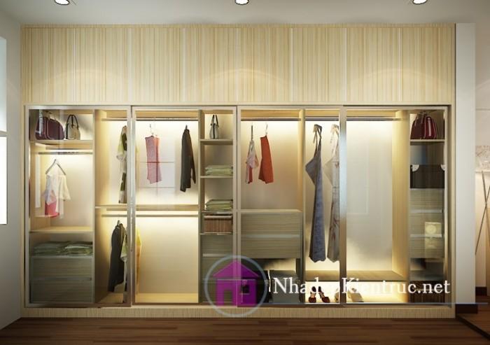 Tủ áo quần gỗ 01