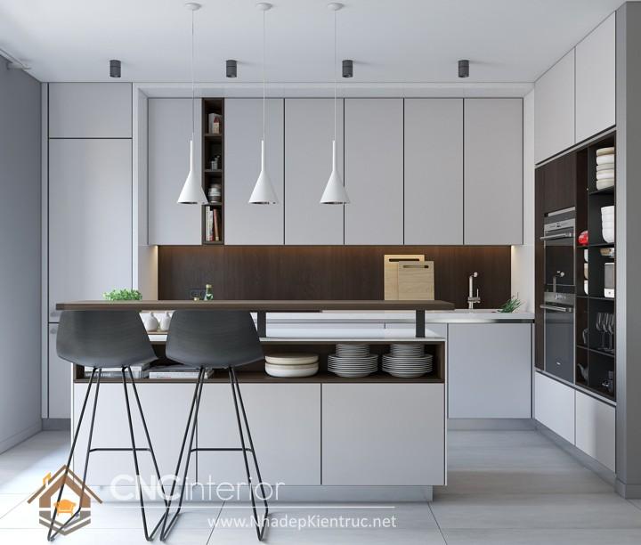 Tủ bếp đơn giản 3