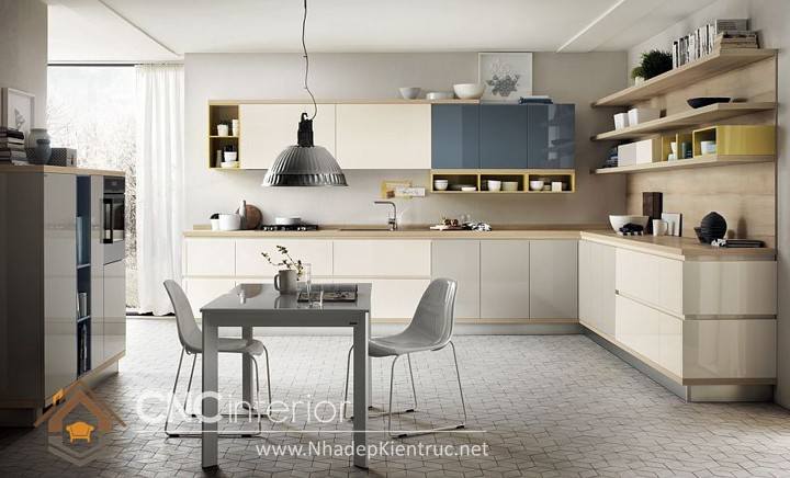 Tủ bếp đơn giản 7