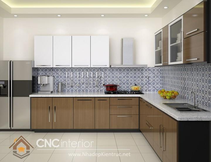 Tủ bếp đơn giản 8