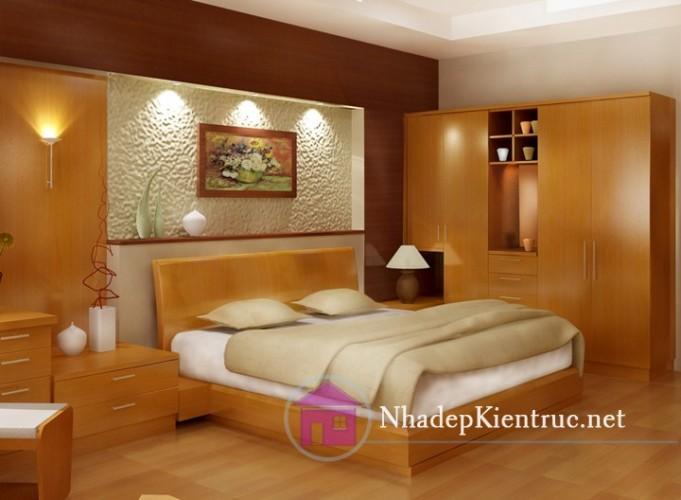 Mẫu giường ngủ bằng gỗ