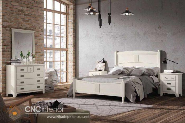 mẫu giường ngủ gỗ đẹp 34