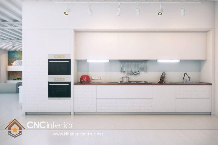 MẪU TỦ BẾP GỖ ĐẸP CNC-H 19
