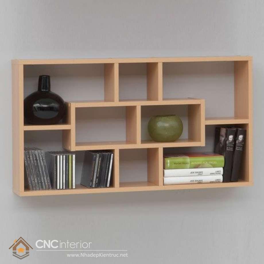 21 Amazing Shelf Rack Ideas For Your Home: KỆ GỖ TRANG TRÍ PHÒNG KHÁCH CNC-H 21