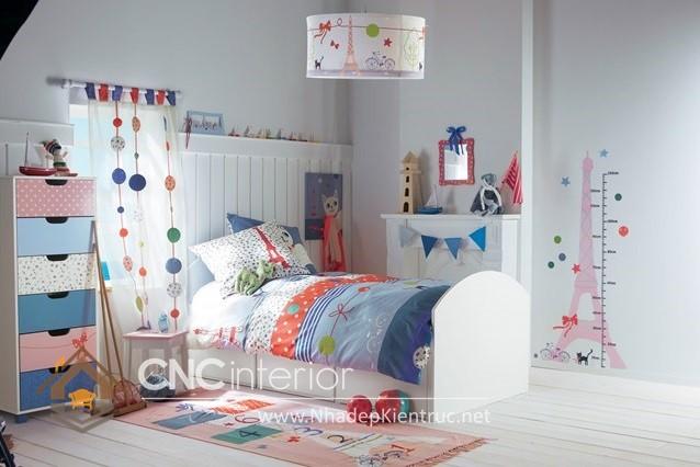 Phòng ngủ bé gái xinh