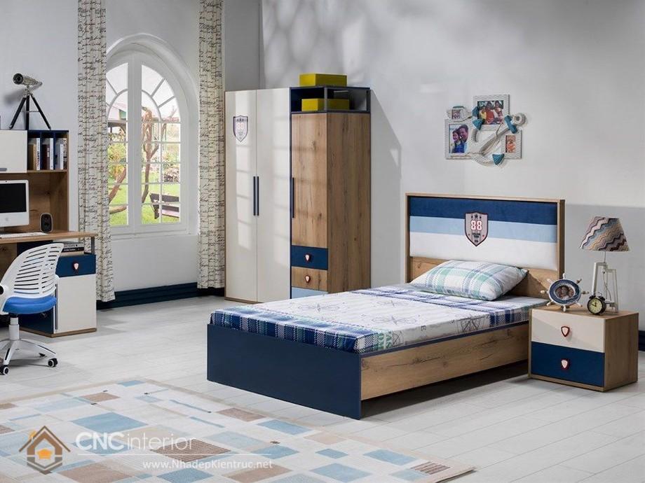 giường ngủ cho bé trai 5