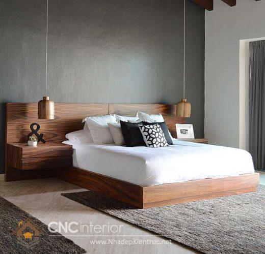 mẫu giường ngủ gỗ đẹp 43