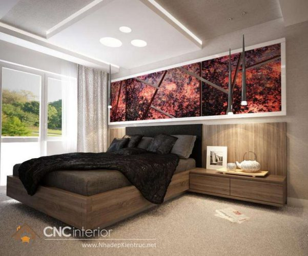 mẫu giường ngủ gỗ đẹp 50