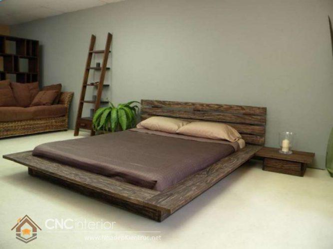 mẫu giường ngủ gỗ đẹp 57 - 1