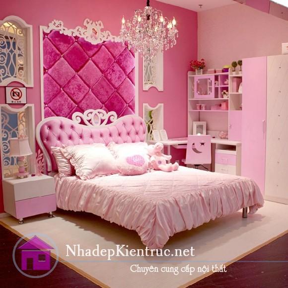 cách trang trí phòng ngủ con gái