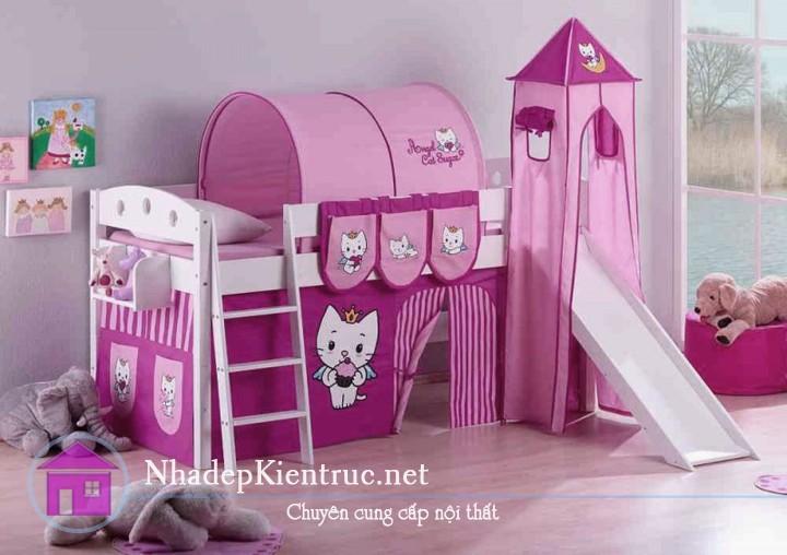 cách trang trí phòng ngủ con gái 2