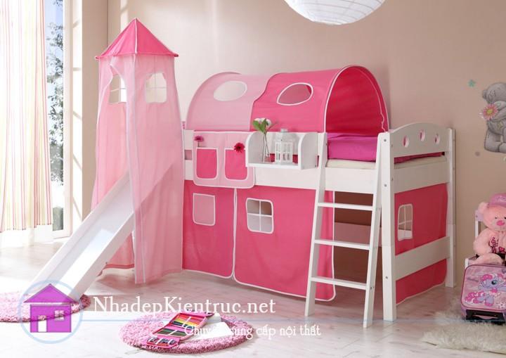 mẫu giường tầng đẹp 5