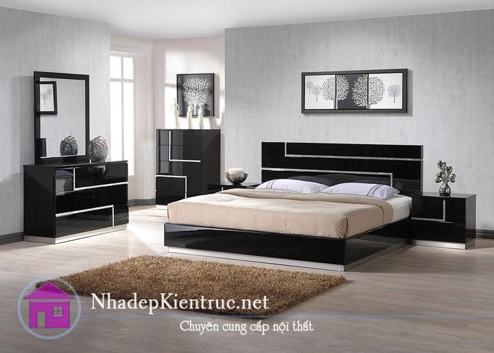 các mẫu giường gỗ đẹp 5
