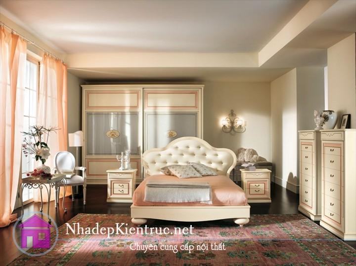 mẫu giường gỗ đẹp 2