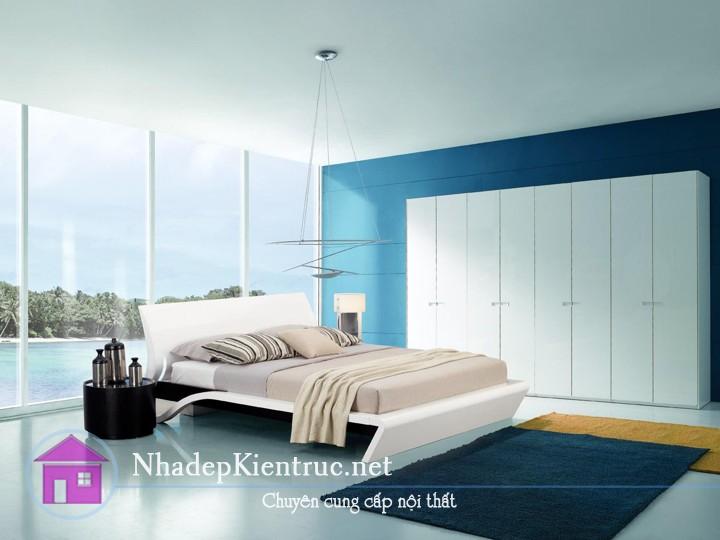 các mẫu giường gỗ đẹp 1