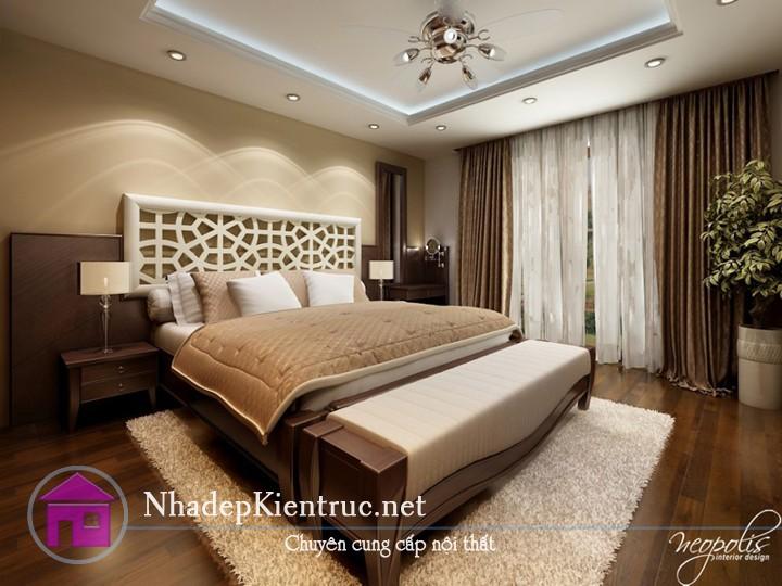 các mẫu giường gỗ đẹp 2