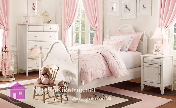 trang trí phòng ngủ màu hồng 2