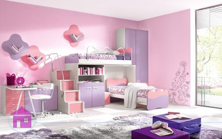 cách trang trí phòng ngủ cho bé 2