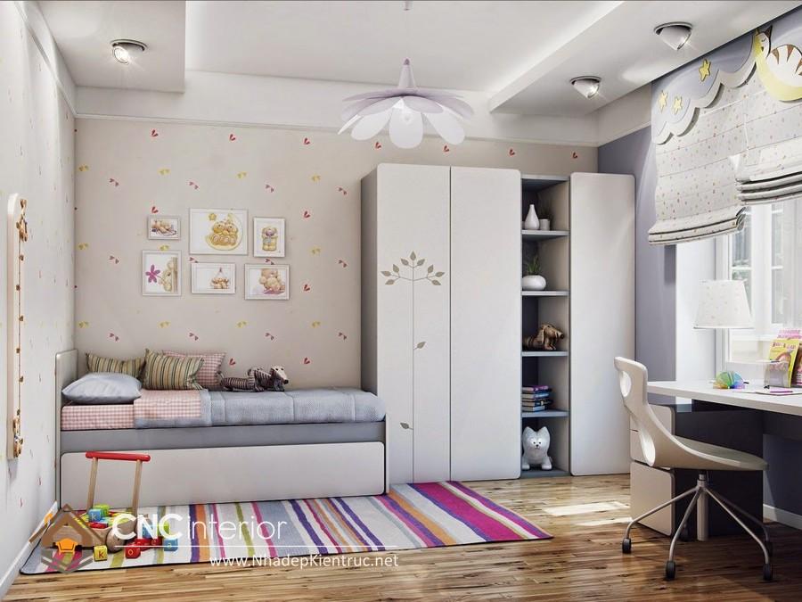 phòng ngủ nhỏ đơn giản