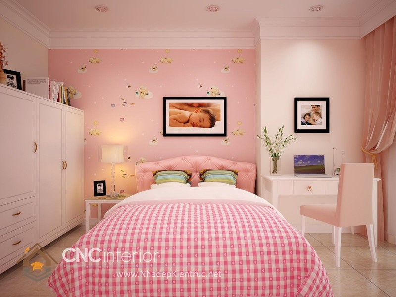 Cách trang trí phòng ngủ con gái 1