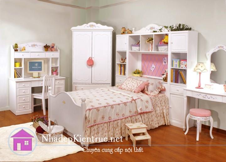 mẫu giường gỗ đẹp 4
