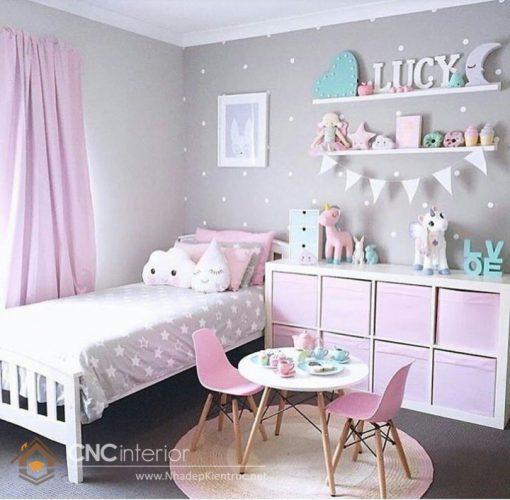 trang trí phòng ngủ màu hồng 10