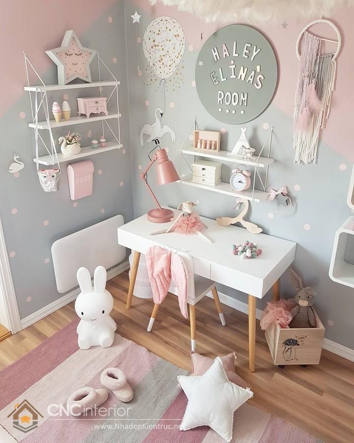 trang trí phòng ngủ cho bé 2