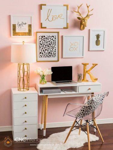 trang trí phòng ngủ màu hồng 4