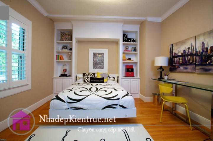 Cách trang trí phòng ngủ có diện tích nhỏ 4