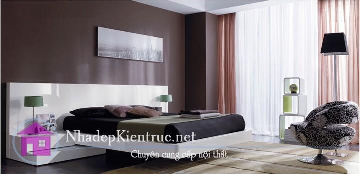 thiết kế nội thất phòng ngủ hiện đại 07