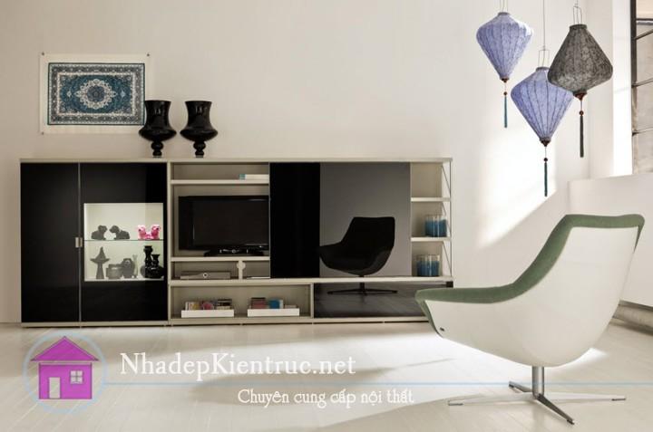 thiết kế phòng khách hiện đại 3