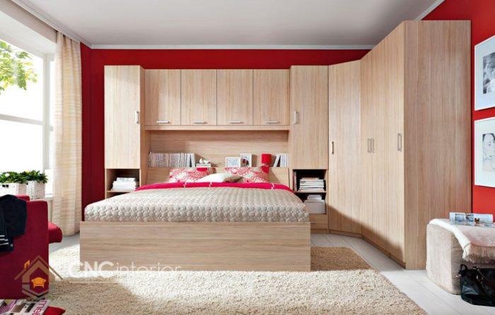 thiết kế nội thất phòng ngủ giá rẻ 1