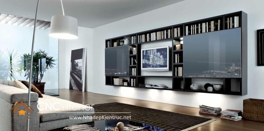 thiết kế phòng khách hiện dại (4)