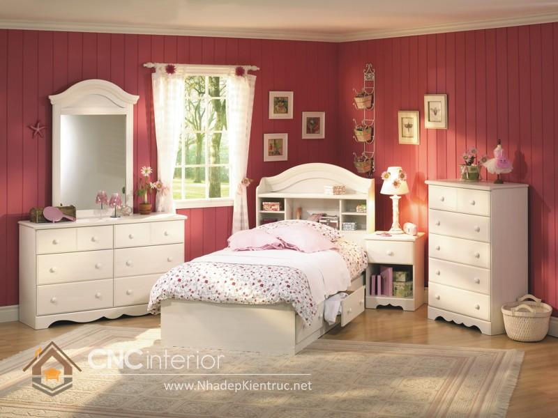 Mẫu nội thất phòng ngủ trẻ em